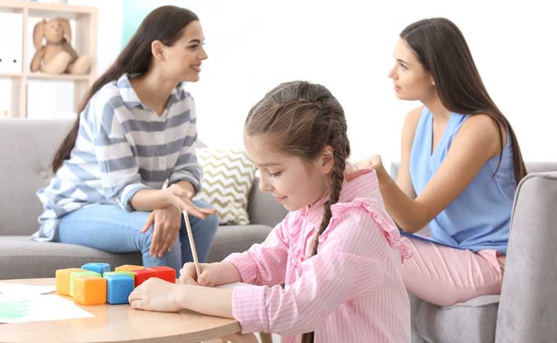 Autism Therapy Session